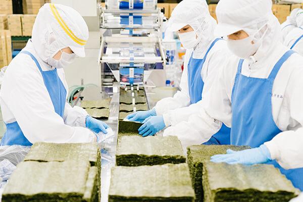 海苔製造ライン